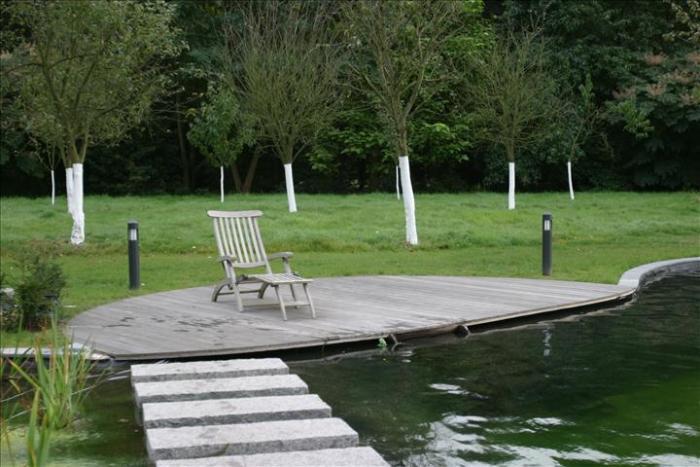 Landelijke-zwemvijver